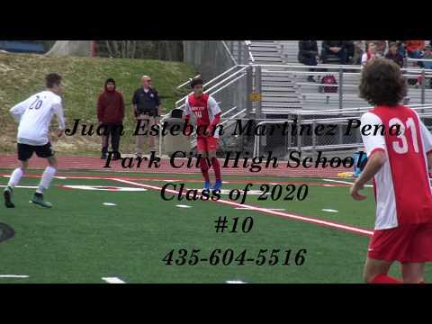Juan Martinez 2019 Soccer Highlights- Park City High School