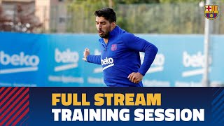 [FULL STREAM] Final training session before Barça-Valencia