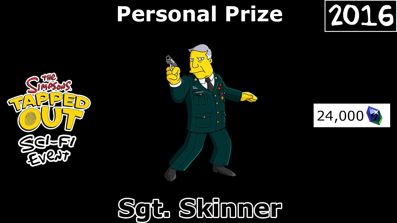 Download TSTO - Sci-Fi Event | Sgt. Skinner | Personal Prize