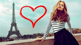 Happy FRENCH LOVE Music ROMANTIC ACCORDION CAFE Instrumental Music