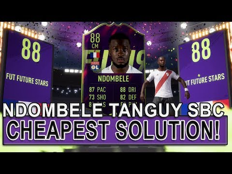 NDOMBELE TANGUY SBC CHEAPEST SOLUTION! (*No Loyalty*) | FIFA 19 SBC CHEAP | FIFA 19 ULTIMATE TEAM