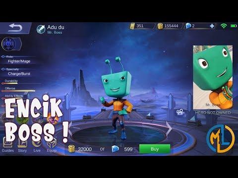 Mobile Legends : Ideas : Adu du the Mr. Boss