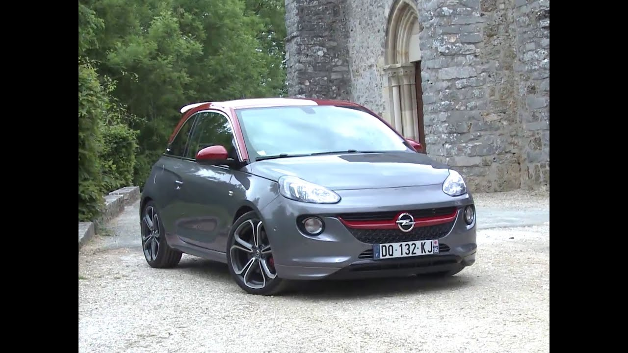 essai opel adam s 2015 youtube. Black Bedroom Furniture Sets. Home Design Ideas
