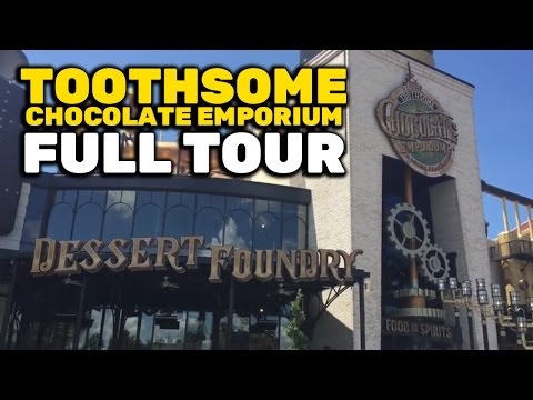 Toothsome Chocolate Emporium tour at Universal Orlando CityWalk