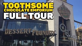 FULL TOUR Toothsome Chocolate Emporium at Universal Orlando CityWalk