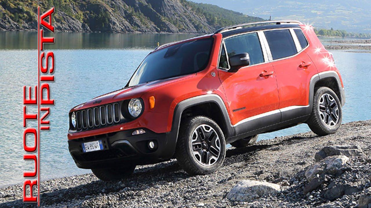 jeep renegade test drive marco fasoli prova esclusiva ruote in pista youtube. Black Bedroom Furniture Sets. Home Design Ideas