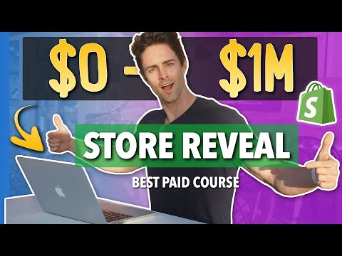 🏆The $1,000,000 Store Reveal, Best Paid Course for Shopify Dropshipping (Google Ads) thumbnail