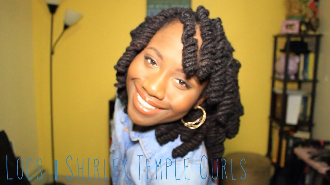 Locs Shirley Temple Curls Jasmine Rose Youtube
