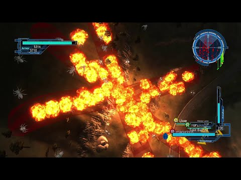 EDF Earth Defense Force 5 DLC 2 Online Mission 8 Engage Aggressors 5 [Farming Mission] WD Inferno thumbnail