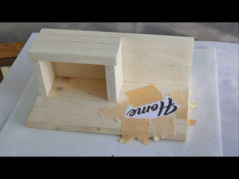 Diy Resin & Wood Key Shelf