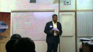 Bombay TM meeting 25-2-12 - Presidents Address