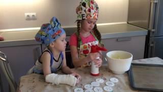 DIY / Печенье на 23 февраля/ Подарок своими руками. Дети готовят. Cooking ideas