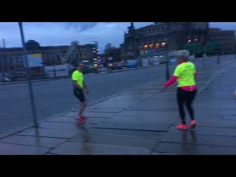 Morgenløb efter Dresden Marathon