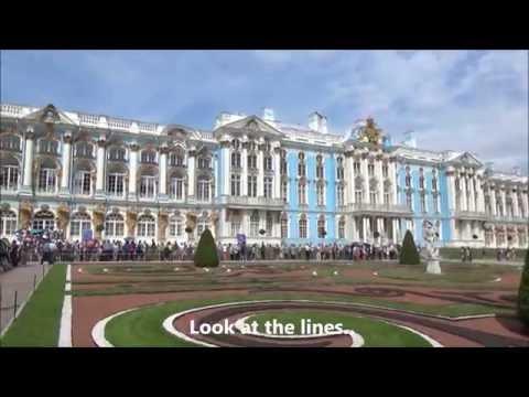 Catherine Palace Pushkin St Petersburg Russia Gorgeous Day!