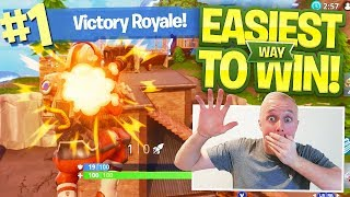 HOW TO WIN EVERY TIME ON FORTNITE BATTLE ROYALE!!