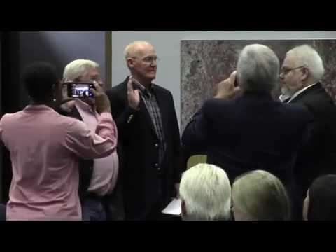 Swearing in of new board members