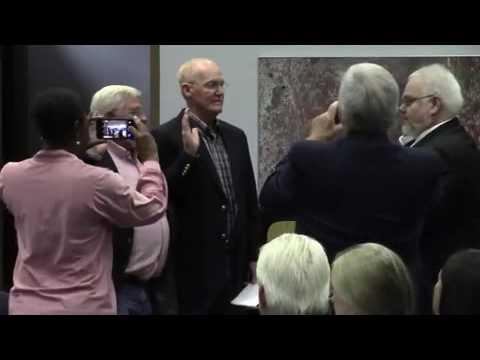 Swearing in of new board members