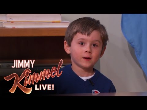 Five Year Old Genius Arden Hayes on Jimmy Kimmel