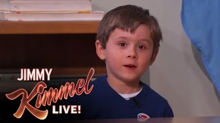 Download Five Year Old Genius Arden Hayes on Jimmy Kimmel Live Mp3 and Videos