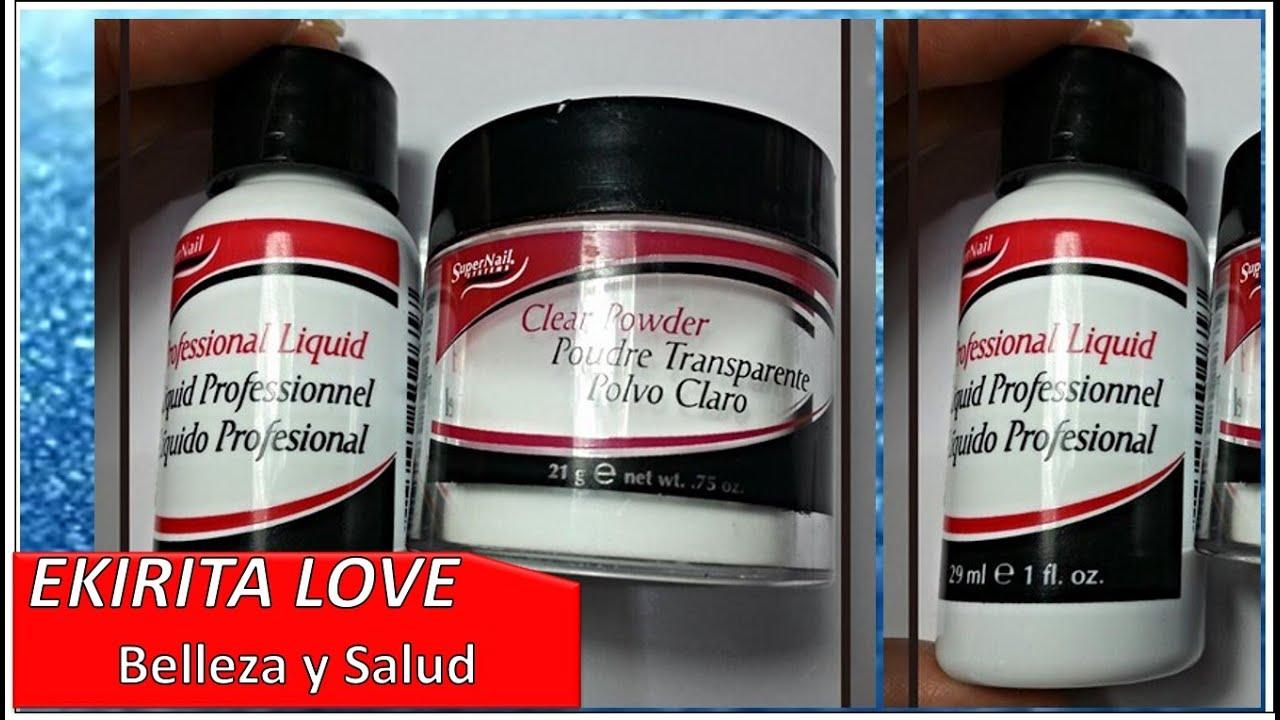 nueva compra de productos para uas acrilicas o en gel ekirita love