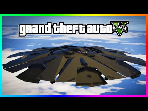 GTA 5 - What Is Actually Inside UFO's! Chiliad Mystery UFO Interior Found! (GTA 5 Gameplay)