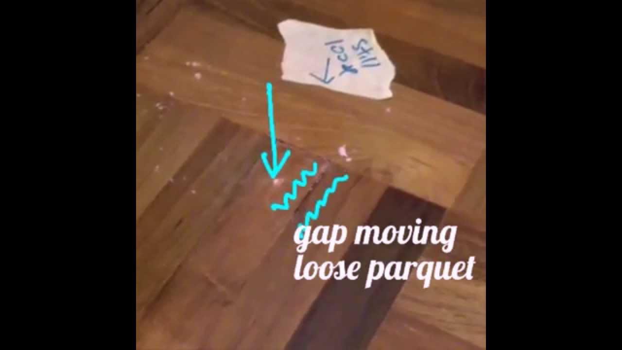 Parquet HomeDiY 1 2 3 ; How To Repair Wood Parquet Floor Gaps Cracks? (part  1)