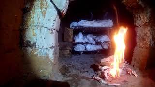 Копчение мяса в русской печи