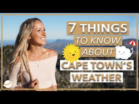 Weather Cape Town ☀️ 7 THINGS YOU NEED TO KNOW IN LESS THAN 5 MINUTES⏳