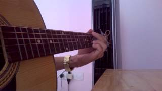 Duyên - Tạ Quang Thắng - Guitar Acoustic Cover