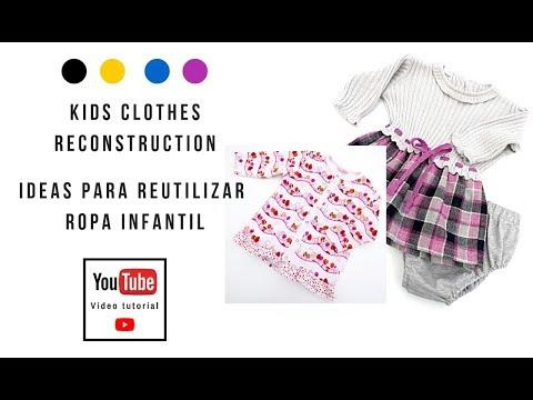 Reciclar ropa infantil ¡IDEAS!