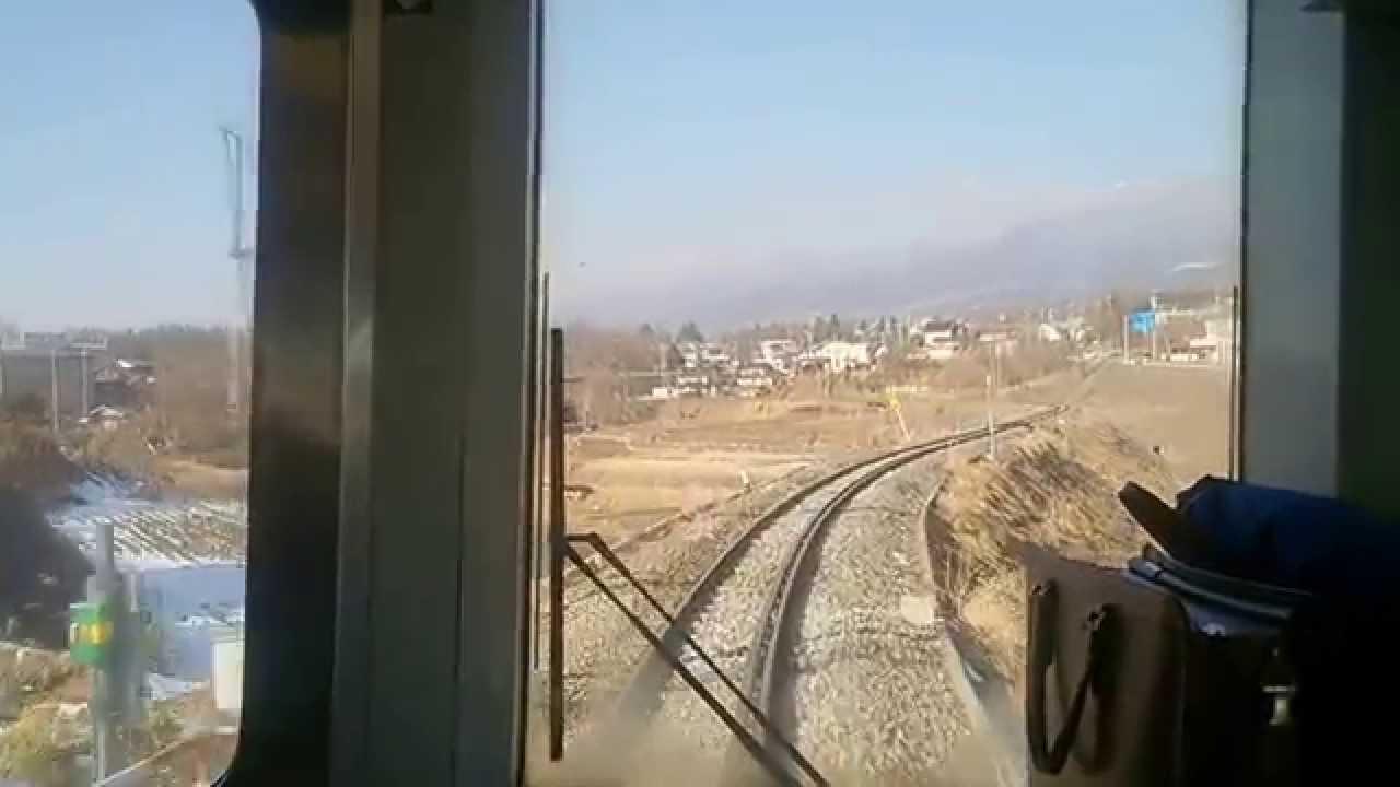 JR小海線 美里駅~小諸駅 前面展望 - YouTube