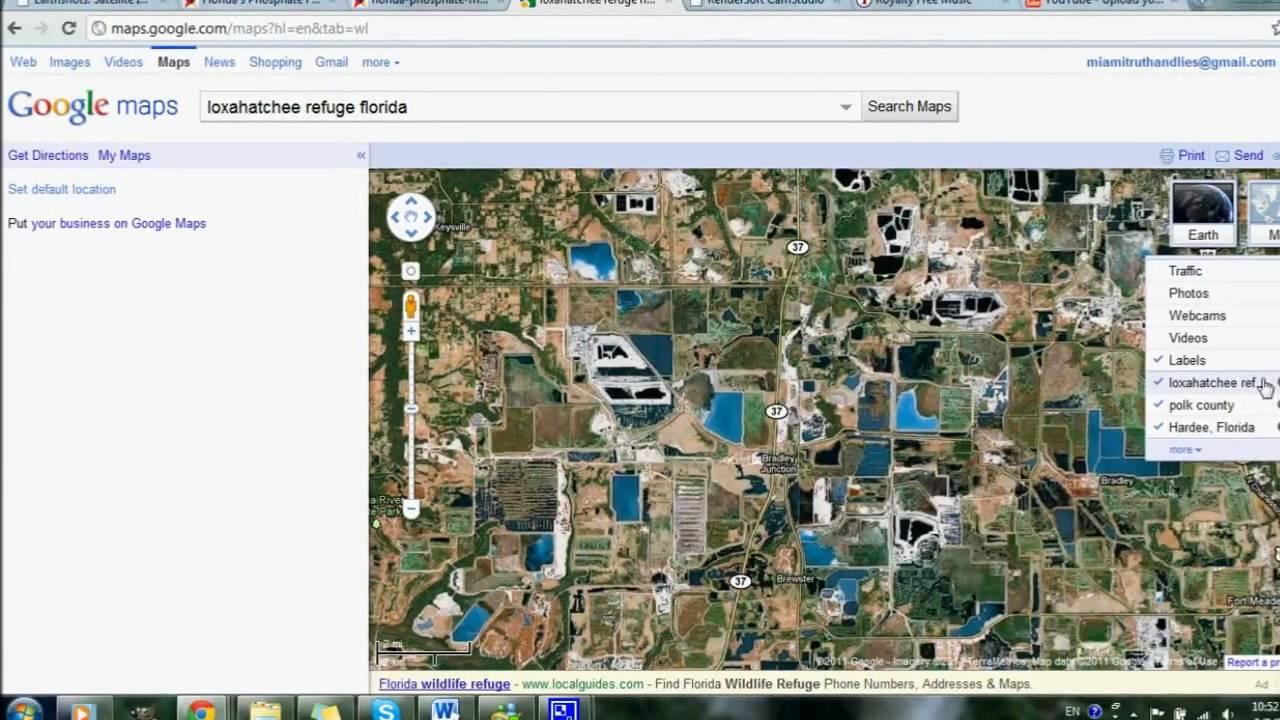 florida map google