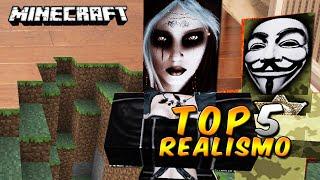 Top 5 Los MEJORES Paquetes de Texturas más REALISTAS - Minecraft
