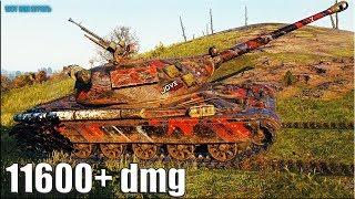 Польский ТОП танк 🌟 11600+ dmg 🌟 60TP Lewandowskiego World of Tanks лучший бой