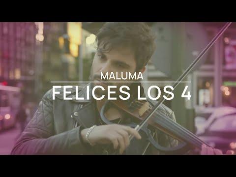 Violín Cover Jose Asunción - Felices los 4 - Maluma