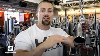 How To Use Supersets To Bust Plateaus | Kris Gethin