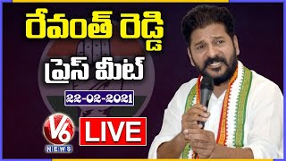 Congress MP Revanth Reddy Press Meet LIVE | V6 News
