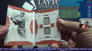 2018 Panini National Treasures Baseball 4 Box Case Break #41