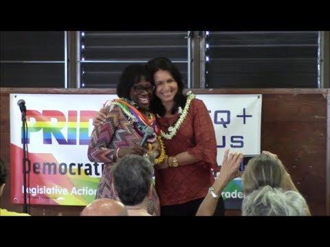 Hawaii Democratic Party Presents Nina Turner Statewide Tour & U.S. Rep. Tulsi Gabbard 02.10.18