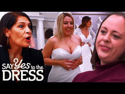 🔴This Is My Fiancé... And This Is His Wife! | Say Yes To The Dress