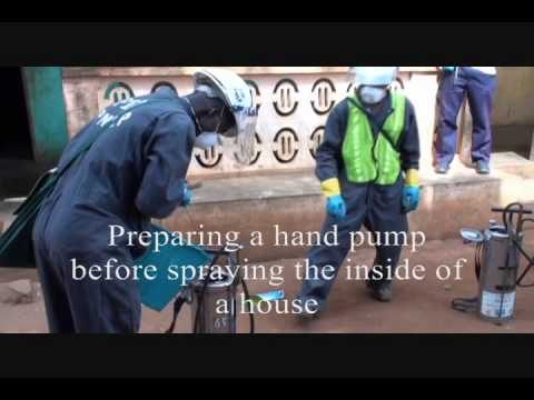 President's Malaria Initiative: Indoor Residual Spraying (IRS) in Benin