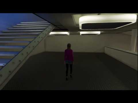 Playstation Home Personal Space Tour - City Penthouse