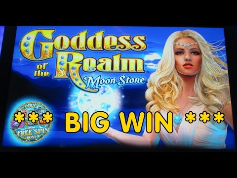 Multimedia Games - Goddess of the Realm  *** BIG WIN ***