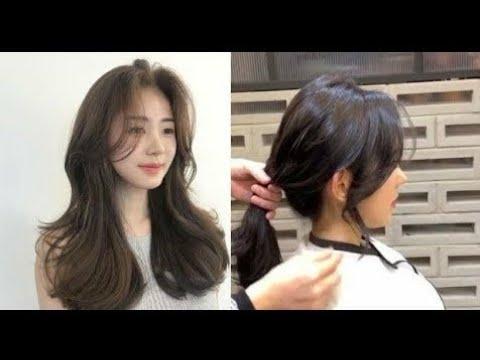 Hướng dẫn làm tóc mái dài Hàn Quốc bồng bềnh quyến rũ