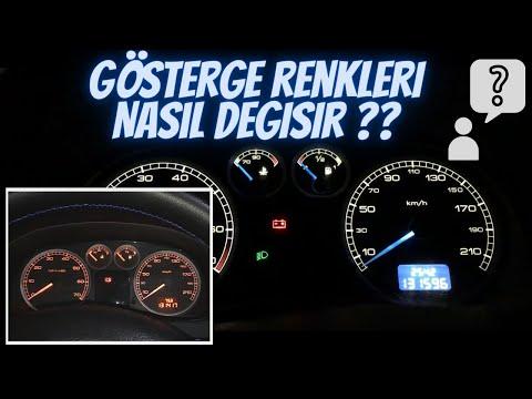 Gösterge Paneli Renk Değişimi, Peugeot 307