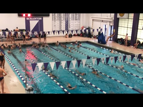 Landmark Conference Swim - Scranton vs. Catholic