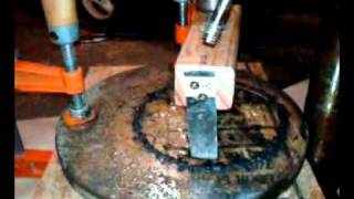 Trepanning Glass for a Telescope Mirror - Part 2