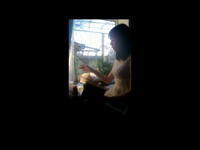 Изображение предпросмотра прочтения – ВалерияДьяченко читает произведение «Лиличка! (Вместо письма)» В.В.Маяковского