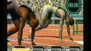 International track and field Game trailer (VHS Capture)