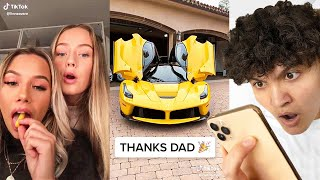 REACTING TO RICH KIDS OF TIKTOK